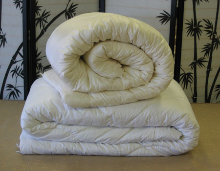 Silk Comforters w/Cotton Cover - Harsh Winter